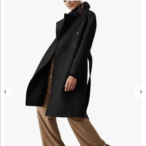 Reiss Eilish Button Wool Coat Authentic PRICE FIRM